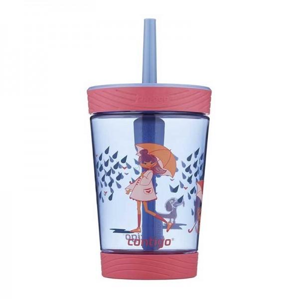 Sticla de apa pentru copii Contigo Spill Proof Tumbler 420 ml wink rain