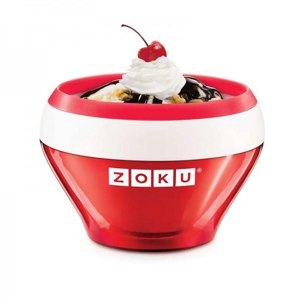 Bol preparare inghetata Zoku ZK120 rosu