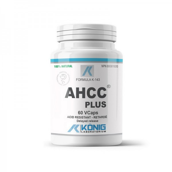 AHCC Plus Forte 700 mg (60 capsule), Konig Laboratorium