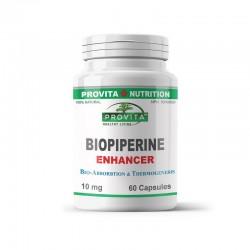Biopiperina Bioperina 10 mg (60 capsule), Provita Nutrition