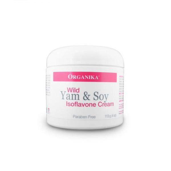 Crema cu yam salbatic si izoflavonoizi (120 ml), Organika Canada