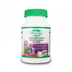 Extract standardizat din samburi de strugure 50 mg (50 capsule), Organika Canada