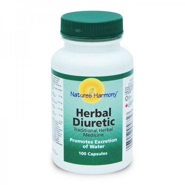 Herbal Diuretic (100 capsule), Natures Harmony
