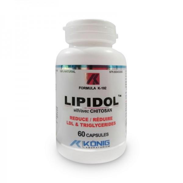 Lipidol cu Chitosan (60 capsule), Konig Laboratorium