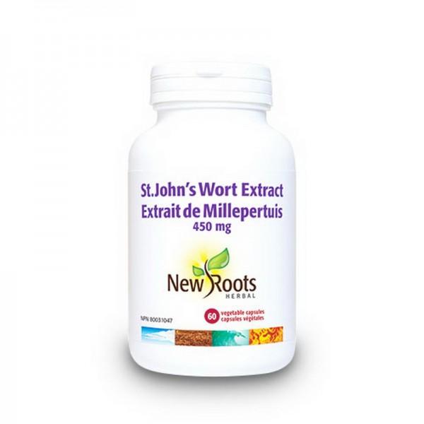 St. John's Wort Sunatoare 450 mg (60 capsule), New Roots
