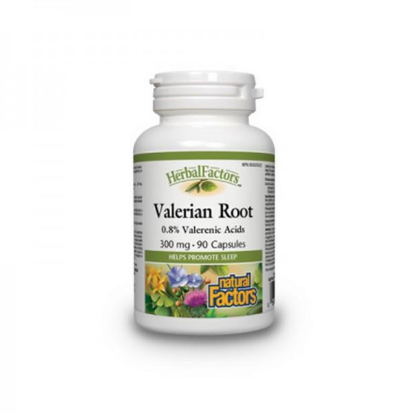 Valeriana Forte 300 mg (90 capsule), Natural Factors