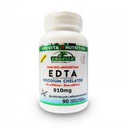 EDTA Chelat Disodic Biodisponibil 910 mg (90 capsule), Provita Nutrition