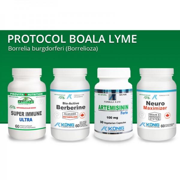 Protocol boala Lyme (Borrelioza), Provita Nutrition