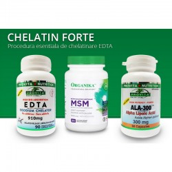 Protocol Chelatin Forte procedura esentiala de chelatinare EDTA, Provita Nutrition