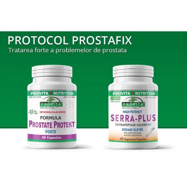 Protocol Prostafix pentru terapia problemelor de prostata, Provita Nutrition