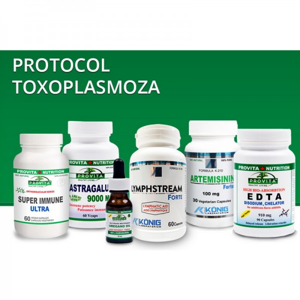 Protocol Toxoplasmoza, Provita Nutrition