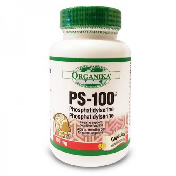PS-100 Fosfatidilserina 100 mg (60 capsule)