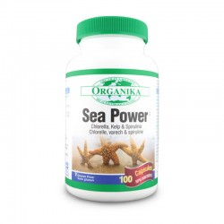 Sea Power Complex din alge 500 mg (100 capsule), Organika Canada
