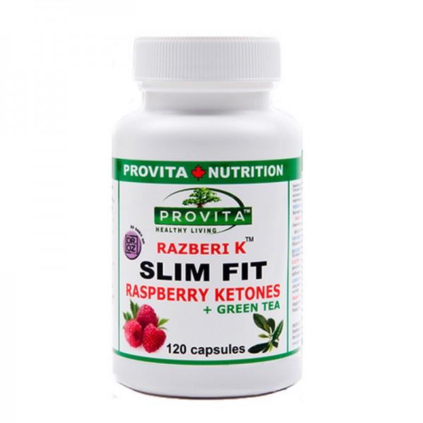 Slim Fit cu cetona de zmeura (120 capsule), Provita Nutrition