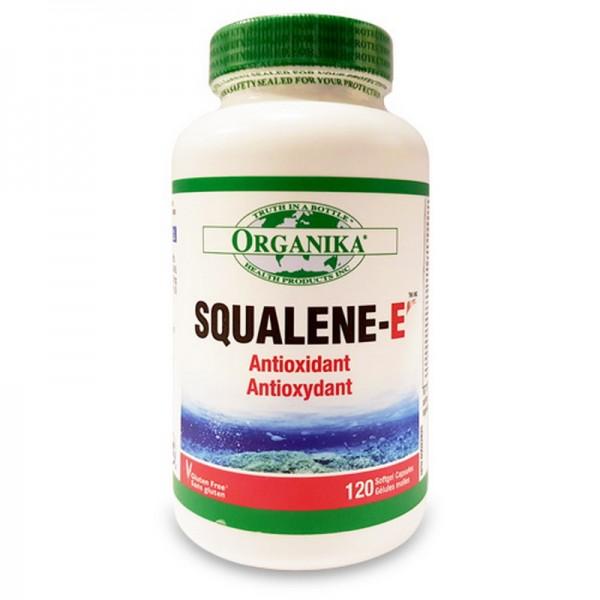 Squalene-E Scualena extract purificat de ulei din ficat de rechin (120 capsule), Organika Canada
