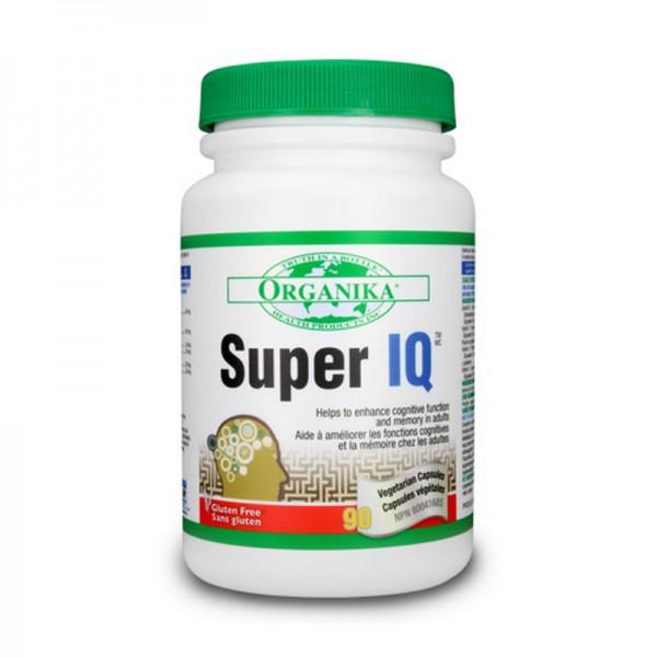 Super IQ stimulant activitate intelectuala (90 capsule), Organika Canada