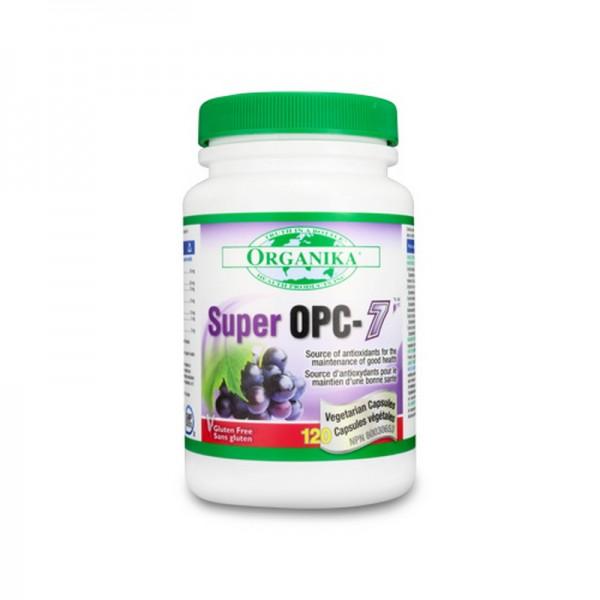 Super OPC-7 Antioxidant izotonic natural (120 capsule), Organika Canada