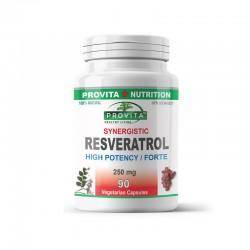 Resveratrol Sinergetic (250 mg), Provita Nutrition