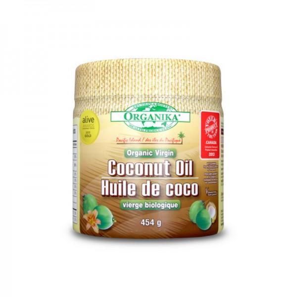 Ulei virgin organic de nuca de cocos (454 grame), Organika Canada