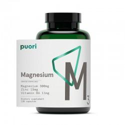 Puori M3 Complex de Magneziu Vegan (120 capsule), Puori