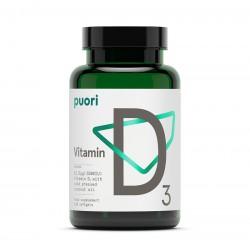 Puori Vitamina D3 2500UI (120 capsule), Puori