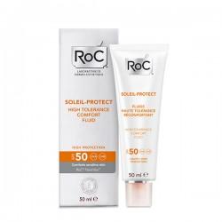 Soleil Protect Fluid confort piele sensibila SPF 50 (50 ml), RoC