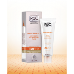 SOLEIL PROTECT Fluid iluminator antiageing SPF 50+ (50 ml), RoC