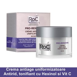 PRO RENEW Crema antiage uniformizatoare (50 ml), RoC