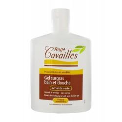 Gel surgras de baie si dus pentru piele sensibila - migdale verzi (300 ml)