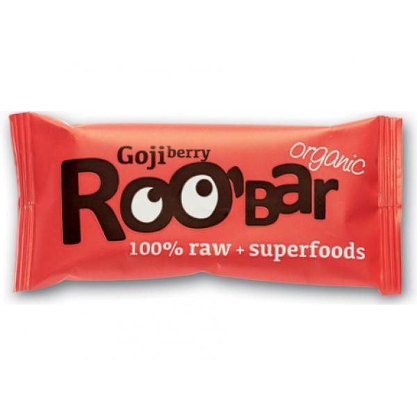 Baton raw bio cu goji (30 grame)