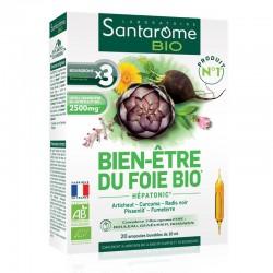 Hepatonic Bio Bien Etre (20 fiole), Santarome