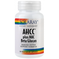 AHCC plus NAC Beta glucan (30capsule)