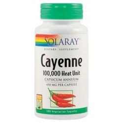 Cayenne (Ardei Iute) 450 mg (100 capsule)