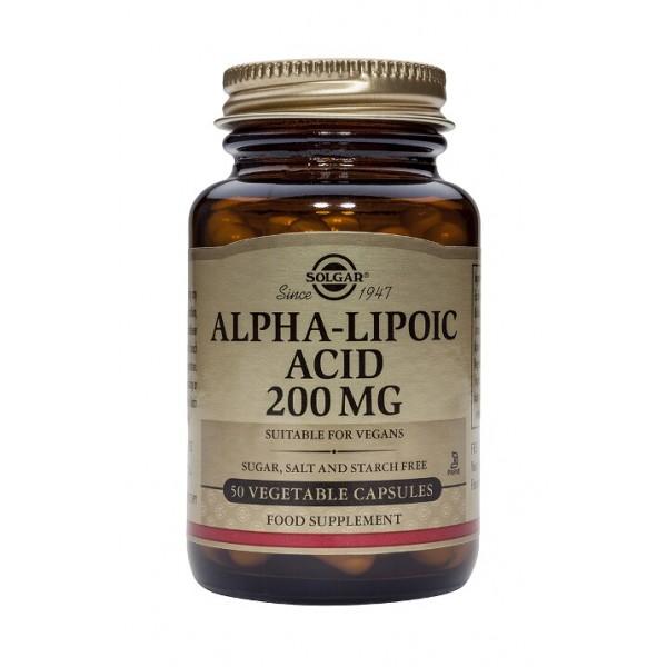 Alpha Lipoic Acid 200mg (50 capsule)