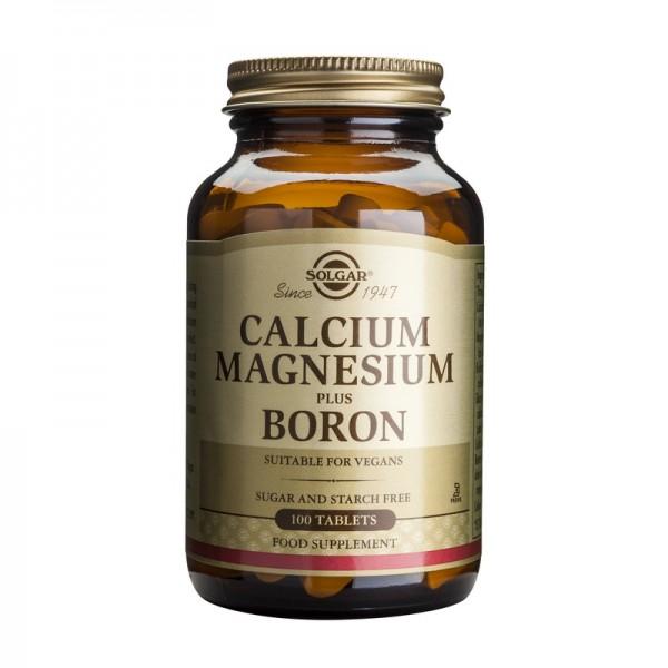 Calcium Magnesium plus Boron (100 tablete), Solgar