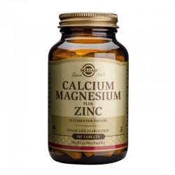 Calcium Magnesium + Zinc (100 tablete), Solgar