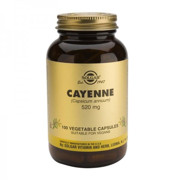 Cayenne 520mg (100 capsule), Solgar