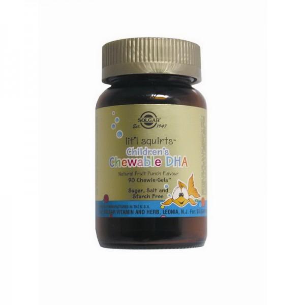 Children's Chewable DHA (90 capsule), Solgar