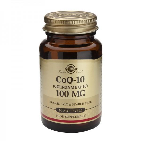 Coenzime Q-10 100mg (30 capsule), Solgar