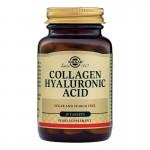 Collagen Hyaluronic Acid 120mg (30 tablete), Solgar