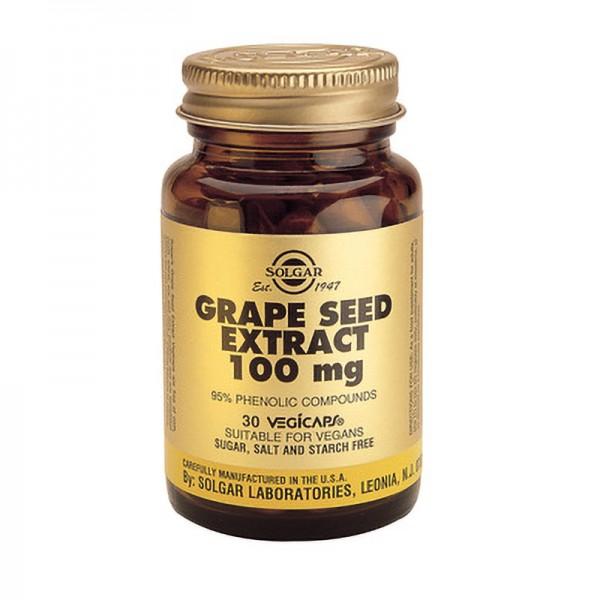 Extract din seminte de struguri 100mg (30 capsule), Solgar