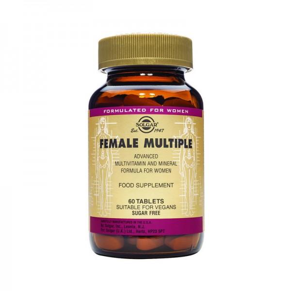 Female Multiple (60 tablete), Solgar