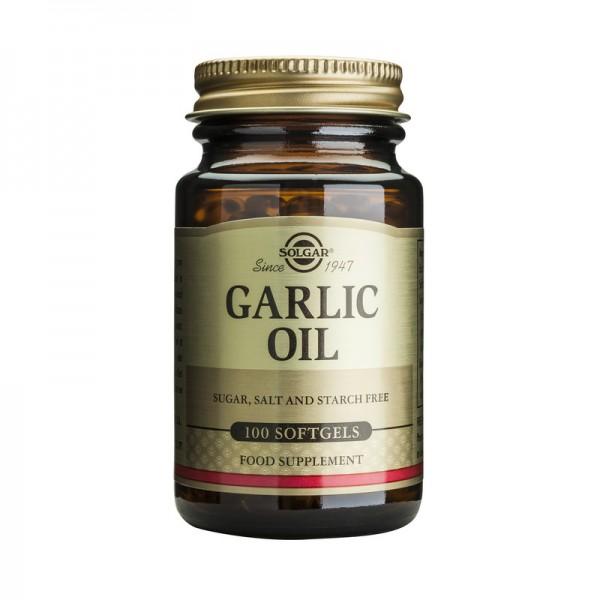 Garlic Oil (100 capsule), Solgar