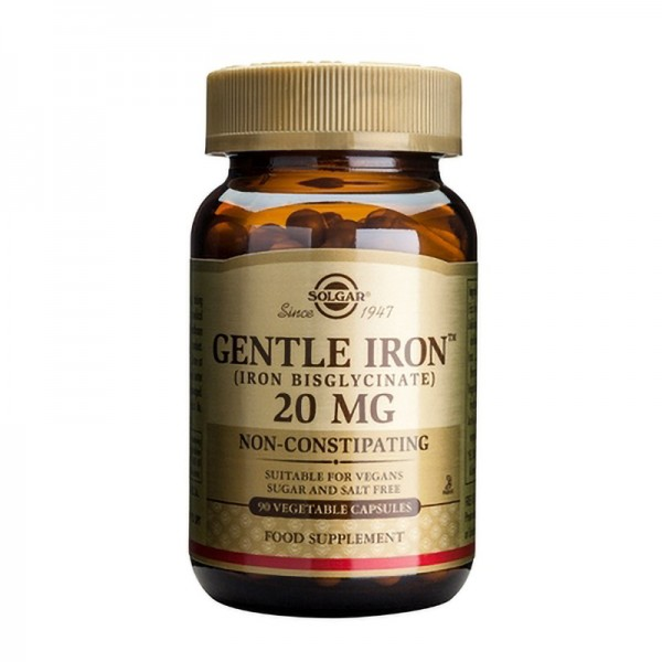 Gentle Iron 20mg (90 capsule)