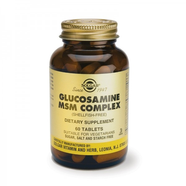 Glucosamine MSM Complex (Shellfish Free) (60 tablete)