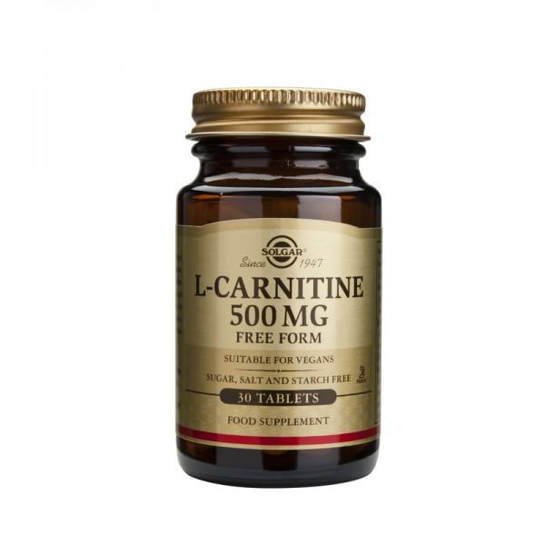L-Carnitine 500mg (30 tablete)