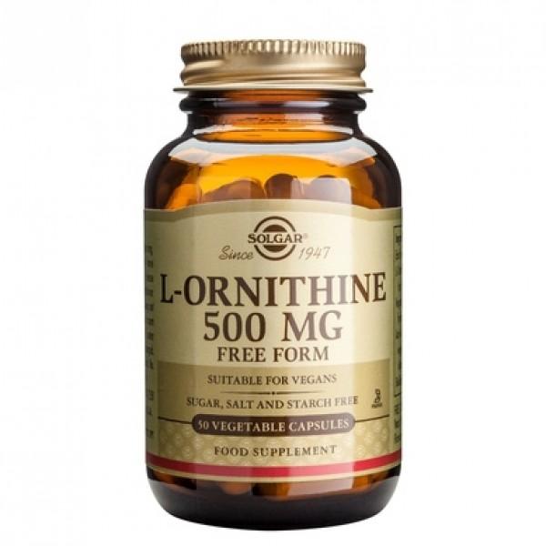 L-Ornithine 500mg (50 capsule)