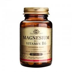 Magnesium + B6 (100 tablete), Solgar