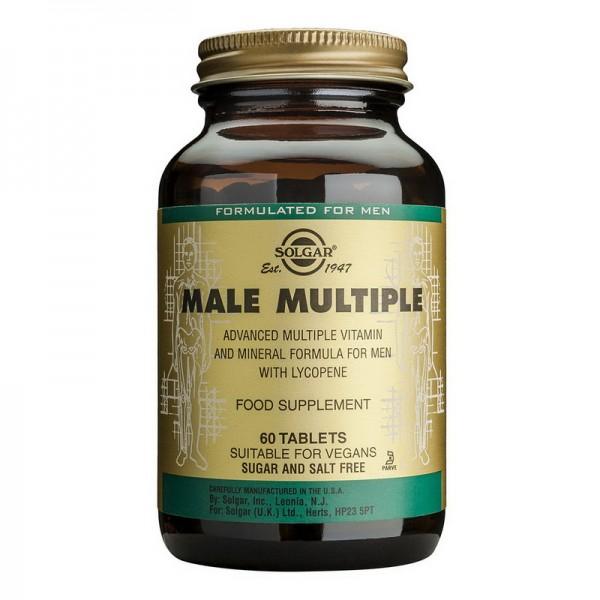 Male Multiple (60 tablete), Solgar