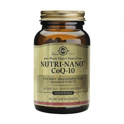 Nutri-Nano CoQ-10 3.1x (50 capsule), Solgar